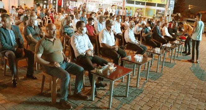 ARABAN'DA 15 TEMMUZ ŞEHİTLERİ ANILDI
