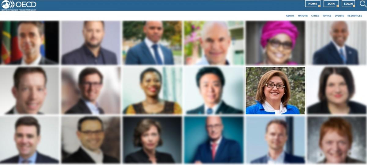 FATMA ŞAHİN OECD ŞAMPİYON BAŞKANLAR ARASINA TÜRKİYE'DEN KATILAN İLK BELEDİYE BAŞKANI OLDU
