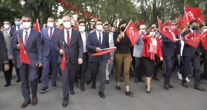 GAZİANTEP'TE 15 TEMMUZ KORTEJİ