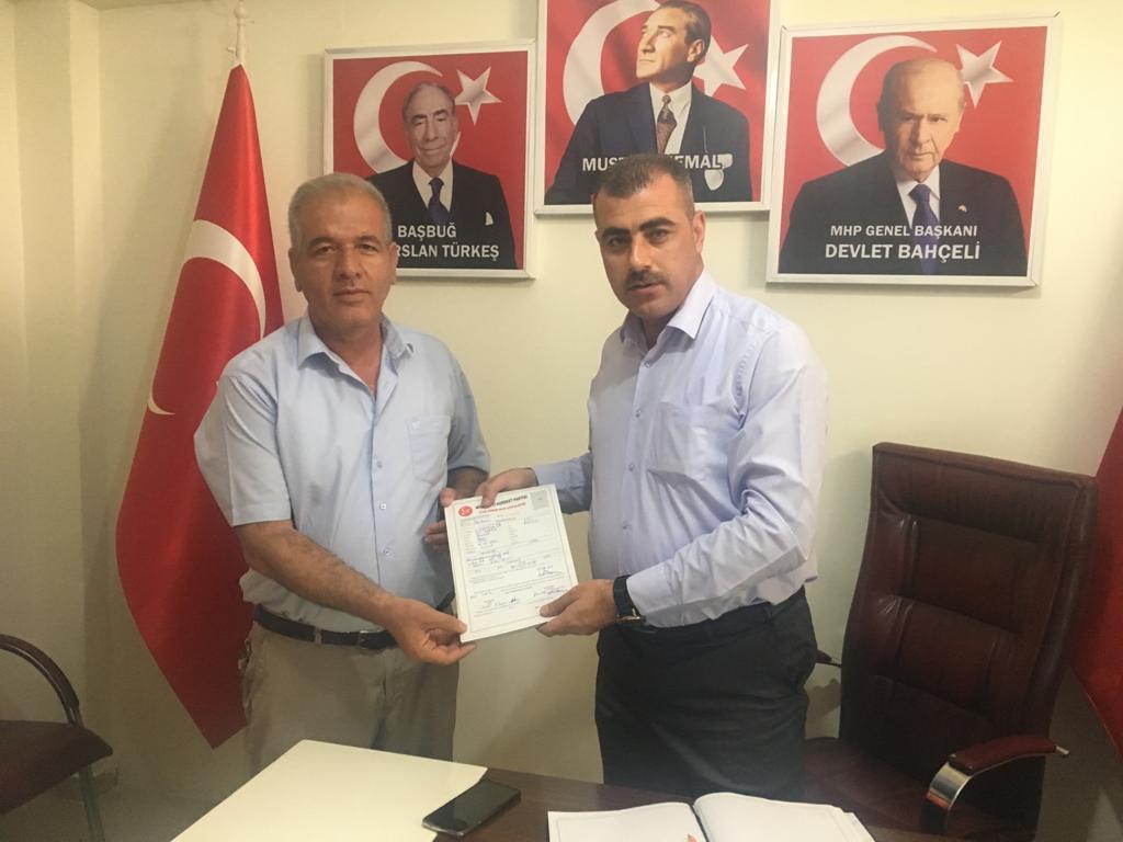 MHP'DE ÜYE KAYIT SEFERBERLİĞİ BAŞLADI