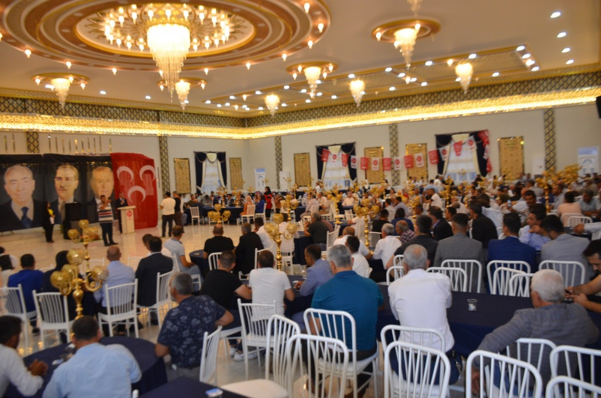 """MHP'NİN İSTİŞARE TOPLANTISI SALONLARA SIĞMADI!  MUSTAFA DEMİR """"MUHTEŞEM VE COŞKULU GELİYORUZ!"""""""