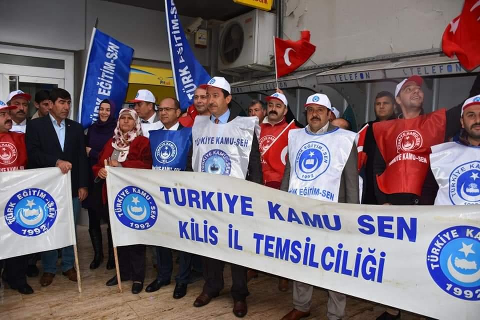 """OSMAN BOYBEYİ """"ENFLASYON KOŞUYOR MEMUR MAAŞI ERİYOR"""""""