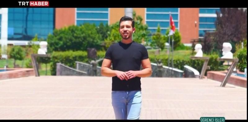 """KİYÜ TRT HABER """"ÖĞRENCİ İŞLERİ"""" PROGRAMINDA"""