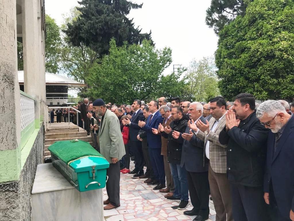 Recep SOYTÜRK DÖRTYOLLU Şair Emin CAN'ın Cenazesine Katıldı