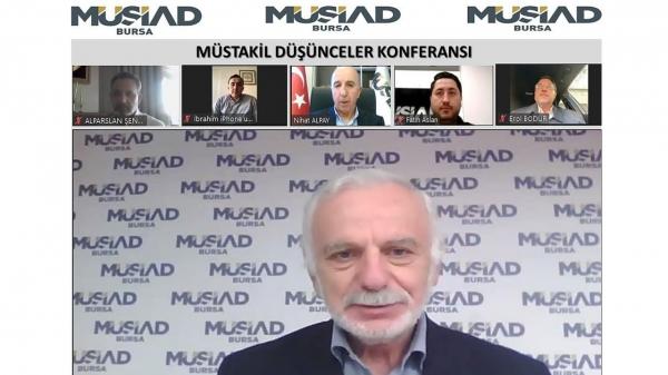 MÜSİAD Bursa'dan ilmi sohbet