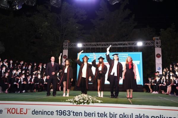 YKS'DE İLK BİNE GİREN 8 GKV ÖĞRENCİSİ 10 DERECE ELDE ETTİ